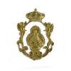 Medalla de oro Virgen de la Cabeza - Joyería Briones