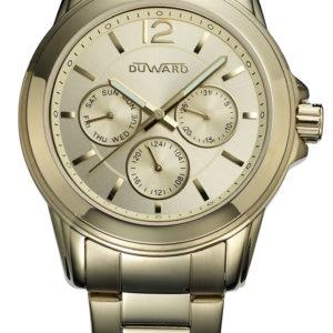 Reloj Duward Señora de Acero Dorado con Esferas